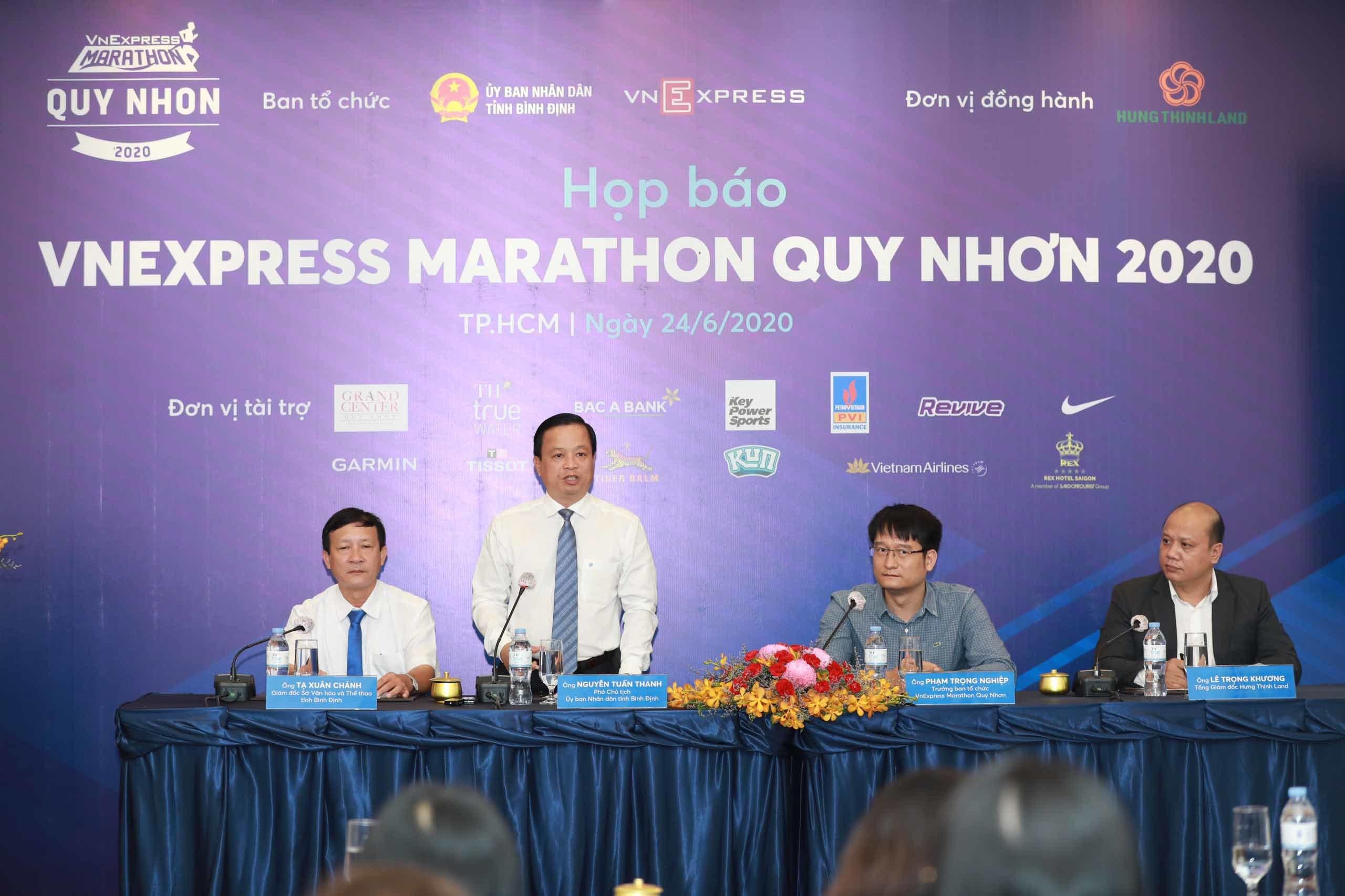 Gần 1 tỷ đồng giải thưởng Marathon Quy Nhơn