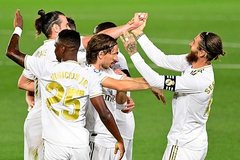 Ramos vẽ siêu phẩm, Real đòi lại ngôi đầu từ tay Barca