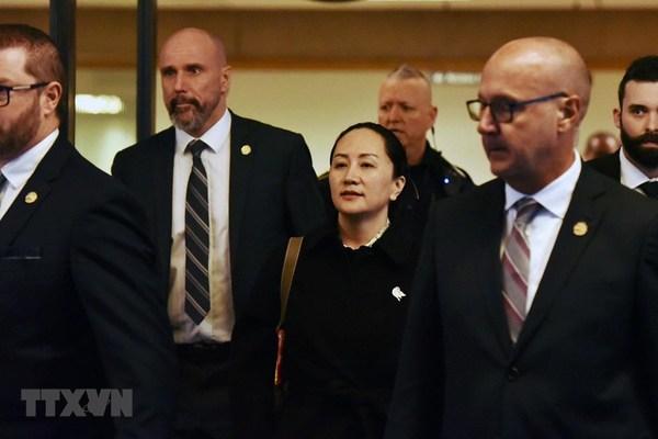 Phiên tòa về dẫn độ CFO Huawei tới Mỹ kéo dài đến cuối tháng 4/2021