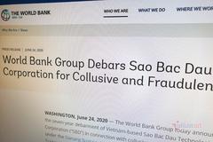 Bị World Bank cấm dự thầu 7 năm, Sao Bắc Đẩu thừa nhận sai sót