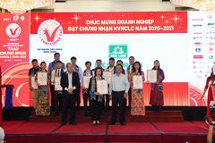 Dược Hoa Linh tiếp tục nhận chứng nhận Hàng Việt Nam chất lượng cao