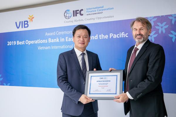 VIB nhận giải thưởng quốc tế về nghiệp vụ tài trợ thương mại