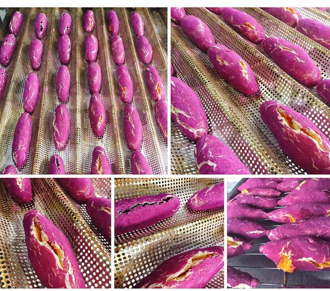 Bánh mì khoai lang tím sốt trên chợ mạng, ngày làm 500 chiếc không đủ bán