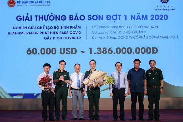 KIT test Covid-19 Việt Nam nhận giải thưởng 60.000 USD