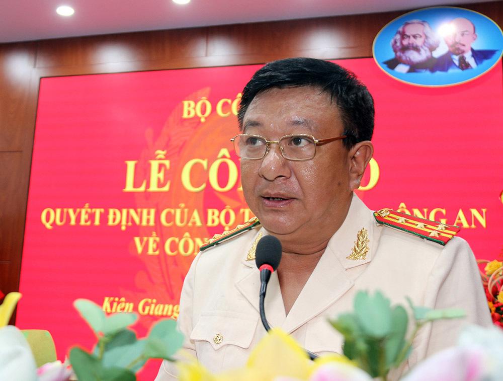 Đại tá Đỗ Triệu Phong làm Giám đốc Công an Kiên Giang