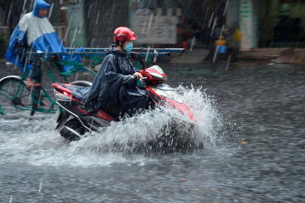Dự báo thời tiết 27/6: Hà Nội mưa rào chiều tối