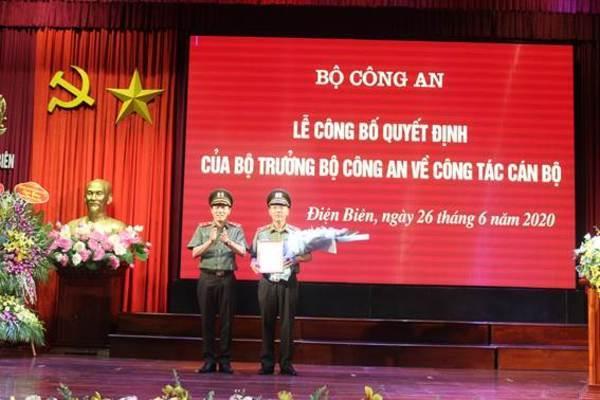 Hà Nam và Điện Biên cùng có Giám đốc Công an mới