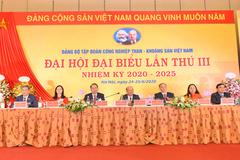 Đại hội Đảng bộ Than - Khoáng sản Việt Nam lần thứ III