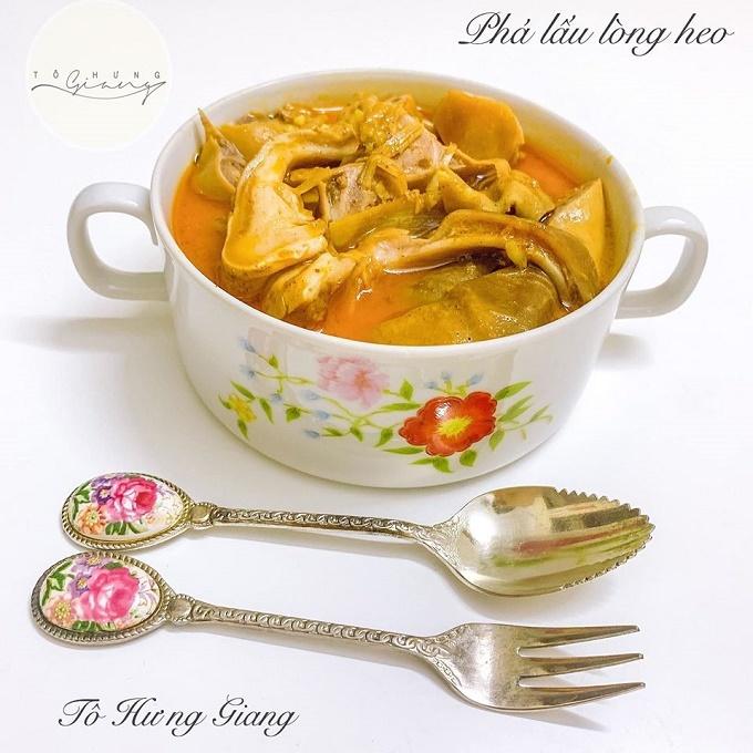 Đổi vị cho Ngày Gia đình Việt Nam với món phá lấu lòng heo