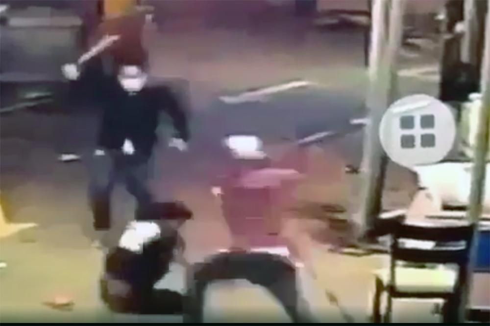 Điều tra nhóm người nổ súng, chém người dã man