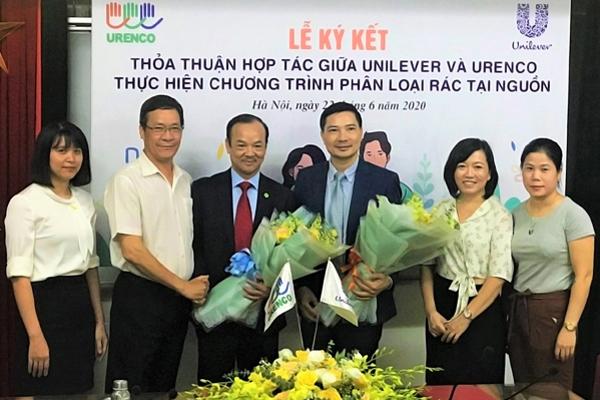 Unilever Việt Nam 'bắt tay' URENCO thúc đẩy phân loại rác tại nguồn