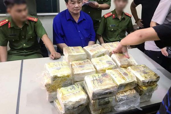 Nghệ An phá đường dây ma túy khủng, thu 50 kg ma túy đá