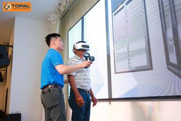 Trình diễn công nghệ thực tế ảo 3D về cửa nhôm đồng bộ Topal