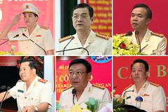 12 tân giám đốc công an vừa được bổ nhiệm cuối tuần qua