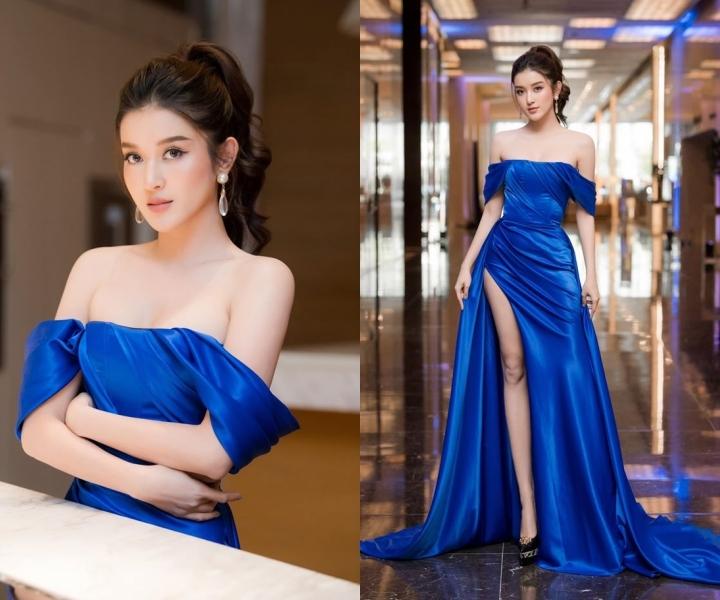 Mai Phương Thuý, Khánh Vân mặc vest thanh lịch