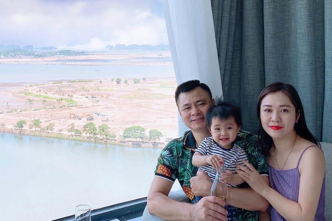 Khoảnh khắc hạnh phúc của Cường Đô La bên Đàm Thu Trang