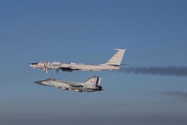 Cuộc chạm trán trên không giữa tiêm kích NATO và chiến cơ Nga