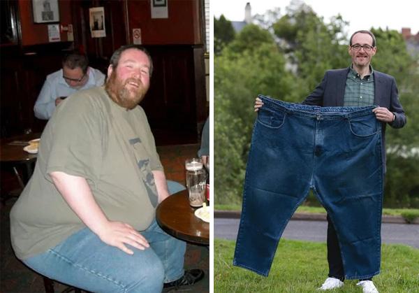 Hạnh phúc đến với người đàn ông giảm cân nhiều nhất thế giới