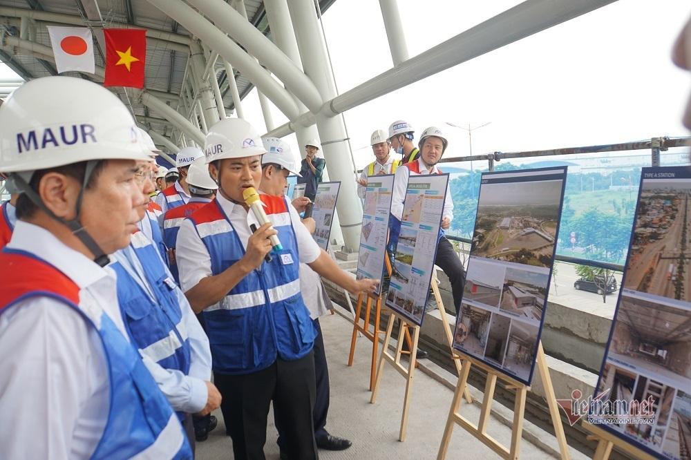 Phó Thủ tướng Phạm Bình Minh thị sát metro Bến Thành- Suối Tiên
