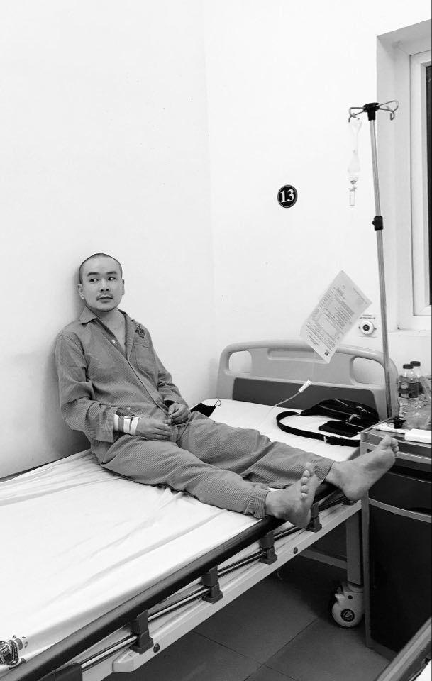 Diễn viên 'Đội đặc nhiệm nhà C21' bị ung thư hạch