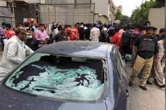 Tấn công đẫm máu vào sàn chứng khoán Pakistan