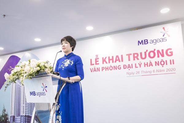 Thêm một văn phòng đại lý MB Ageas Life ở Hà Nội