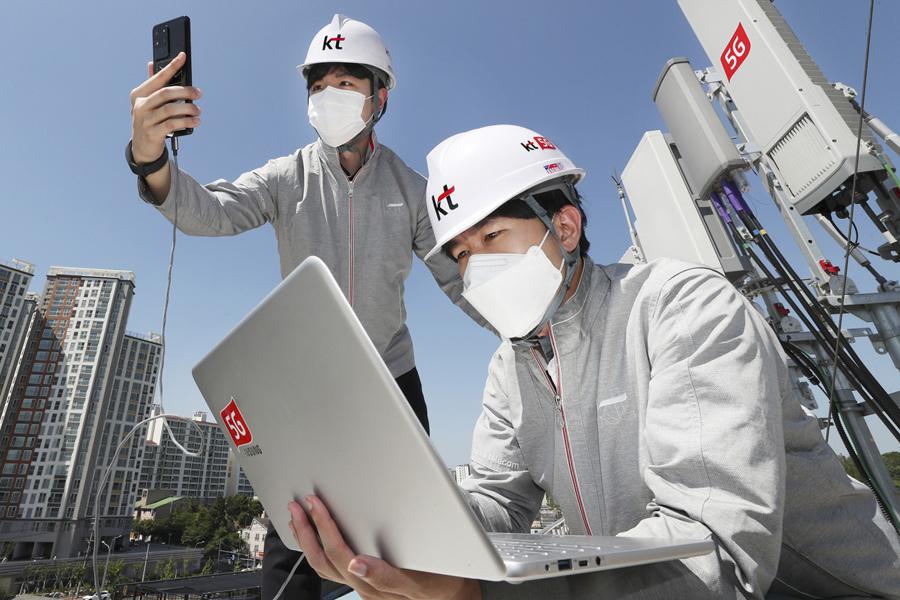 Các nhà mạng Hàn Quốc tăng doanh thu trong quý 2 nhờ 5G