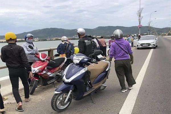 Nghi vấn một phụ nữ bị trầm cảm nhảy cầu tự tử ở Bình Định