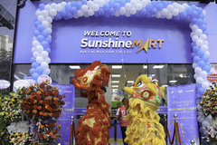 Khai trương siêu thị Sunshine Mart ở Sunshine City