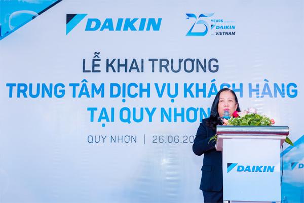 Đã có trạm dịch vụ Daikin ở Bình Định