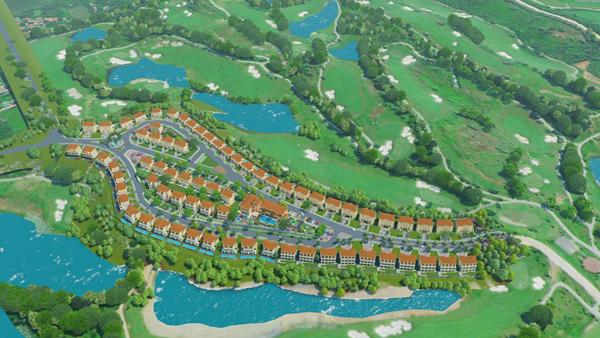 Ra mắt khu biệt thự 5 sao đầu tiên trong lòng sân golf ở Hà Nội