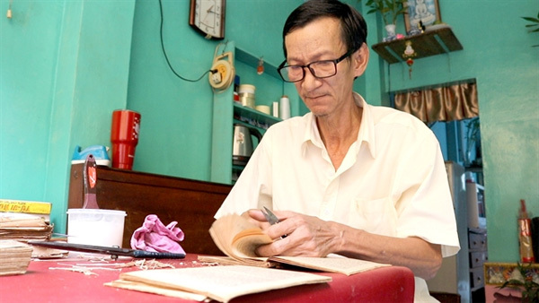 HCM City's last bookbinder keeps craft alive