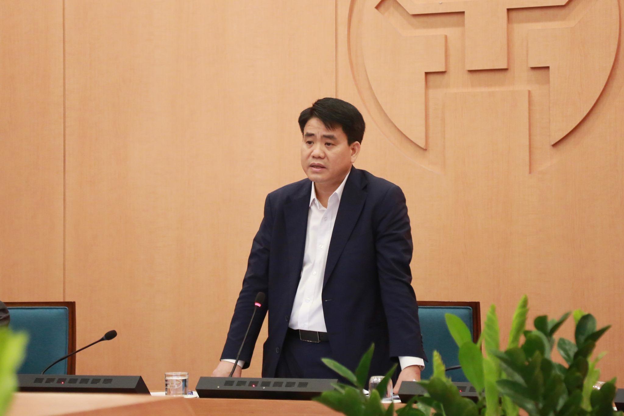 Xét tặng ông Nguyễn Đức Chung huân chương vì thành tích chống dịch Covid-19