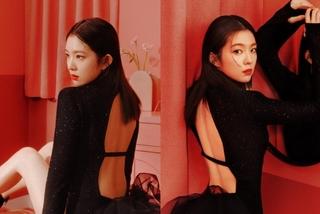 Irene nhóm Red Velvet gợi cảm, hút hồn với sắc đỏ