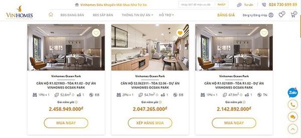 Mua nhà online - bước ngoặt của thị trường bất động sản