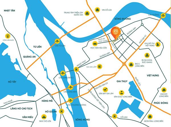 Chung cư Bình Minh Garden hút khách nước ngoài