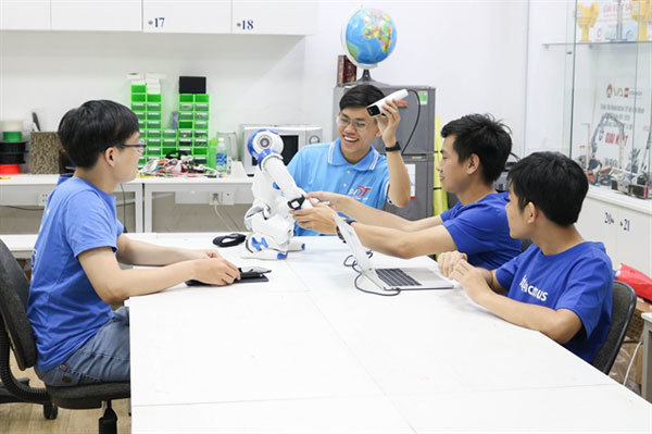 Young researcher shares his passion for AI