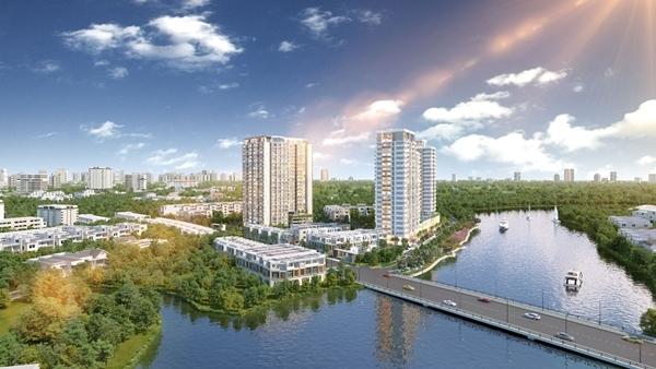 Dự án Precia - tâm điểm thị trường căn hộ ở quận 2