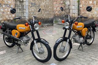 """Xe máy Simson """"huyền thoại"""" 31 năm tuổi giá 150 triệu đồng"""