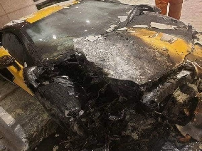 Lamborghini Aventador LP700-4 bỗng phát cháy, chi phí sửa tốn ngang tiền mua xe mới