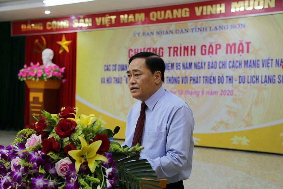 Lạng Sơn cảm ơn báo chí đồng hành, hỗ trợ xây dựng đô thị du lịch