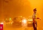Bão cát biến ngày thành đêm tại một thành phố Trung Quốc