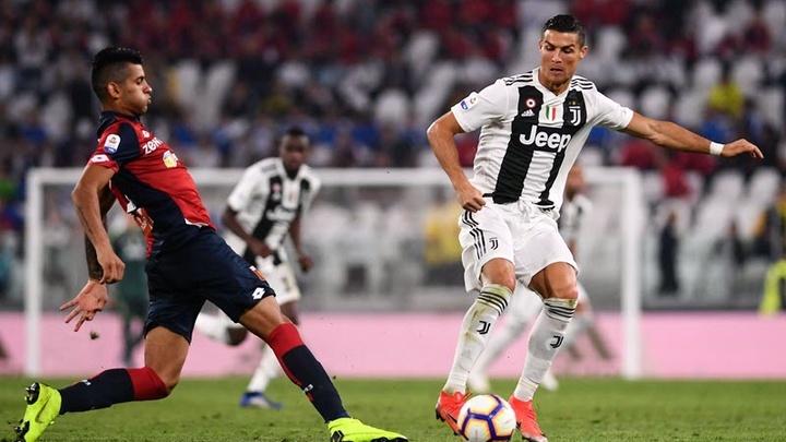 Trực tiếp Genoa vs Juventus: Chờ Ronaldo tỏa sáng