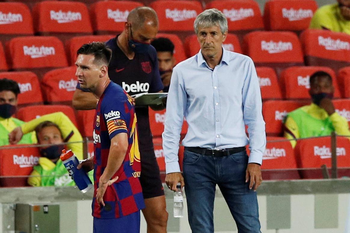 HLV Quique Setien: 'Barca đang rời xa chức vô địch'
