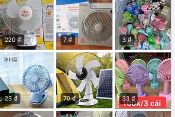 Quạt tích điện dưới 1 triệu dùng một mùa: Chưa dùng đã hỏng