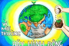 Sáng tác tranh cổ động tuyên truyền bảo vệ môi trường