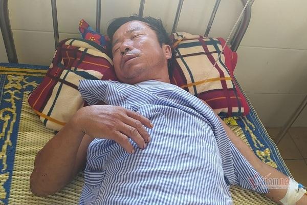 Ngư dân Hà Tĩnh bị tàu giã cào tấn công trọng thương