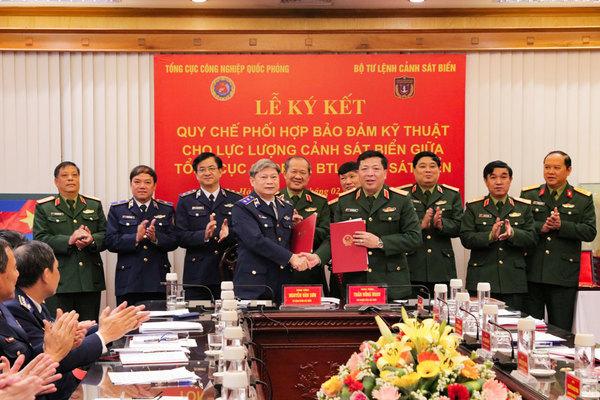 Phối hợp bảo đảm kỹ thuật cho Lực lượng Cảnh sát biển