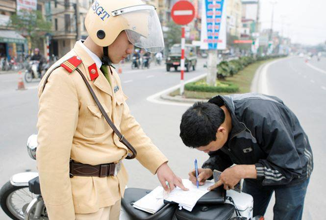 Chứng cứ điện tử thì không có chuyện cảnh sát giao thông tiêu cực
