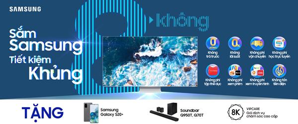 Mua sắm thiết bị công nghệ tiết kiệm hơn với Samsung